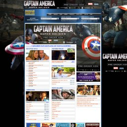 Captain America Takeover