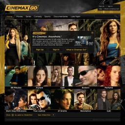 Cinemax Go - Home